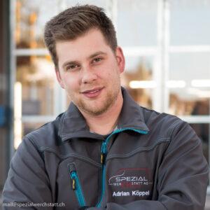 Adrian Köppel von der Spezialwerchstatt AG