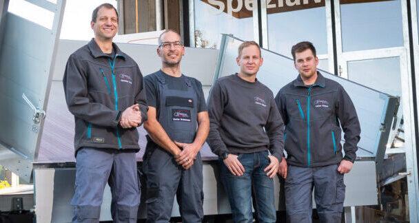 Team der Spezialwerchsatt in Hittnau