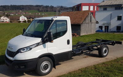 lveco Daily 35S16A8 Chassis Kabine