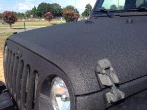 Raptor-Lack am Jeep, matt