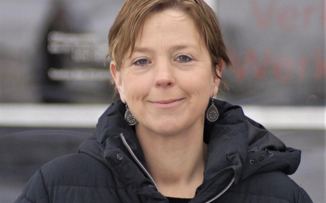 Martina Lütholf, Raumpflegerin bei der Spezialwerchstatt