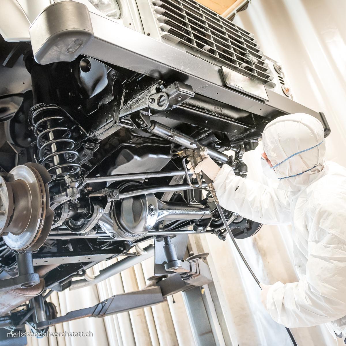 Unterbodenschutz, Hohlraumversiegelung und Korrosionsschutz Fahrzeuge in Hittnau
