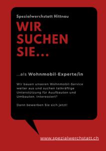 Job Wohnmobil Techniker Mechaniker